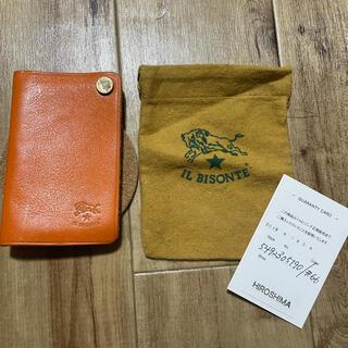 イルビゾンテ(IL BISONTE)のイルビゾンテ カードケース 美品(名刺入れ/定期入れ)
