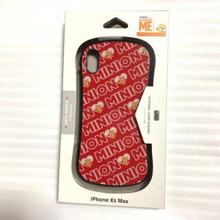 ミニオン(ミニオン)の怪盗グルーシリーズ(ミニオン)iPhoneXsMax対応ハイブリッドケース(レッ(iPhoneケース)