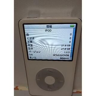 アイポッド(iPod)のiPod classic◇第5世代◇A1136◇30GB(ポータブルプレーヤー)