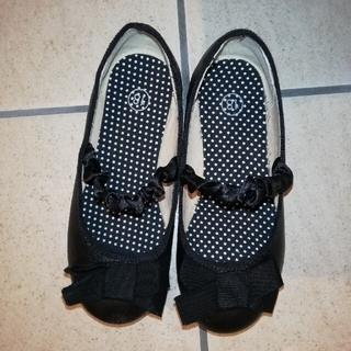 ジーユー(GU)の美品! GU 18cm 靴 フラット シューズ ファーマル 入学式(フォーマルシューズ)