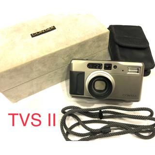 キョウセラ(京セラ)の【動作確認済】contax tvsII コンタックスtvsII(フィルムカメラ)
