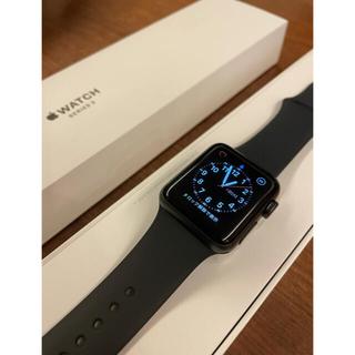 アップルウォッチ(Apple Watch)の美品《ほぼ未使用》Apple Watch 3    38mm(腕時計(デジタル))
