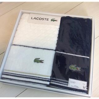 ラコステ(LACOSTE)のこつさん様専用 LACOSTE タオル(タオル/バス用品)