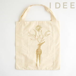 イデー(IDEE)のIDEE オリジナルマルシェバッグ どうぶつ  &キッキン5点セット(エコバッグ)