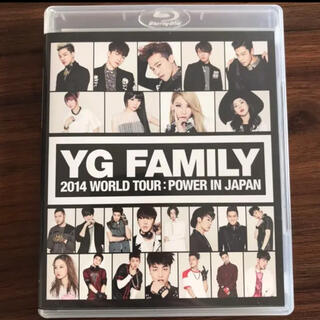 ビッグバン(BIGBANG)のYGFAMILY DVD Blu-ray ブルーレイ(ミュージック)