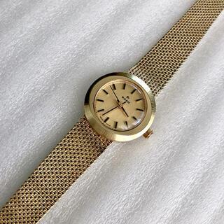 ラドー(RADO)のRADO ラドー レディース手巻き腕時計 稼動品 ゴールド色(腕時計)