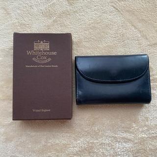 ホワイトハウスコックス(WHITEHOUSE COX)のホワイトハウスコックス ネイビー 財布 3つ折り whitehousecox(折り財布)