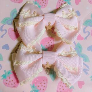 BABY,THE STARS SHINE BRIGHT - ベイビーザスターズシャインブライト リボンコーム ピンク ゆめかわ
