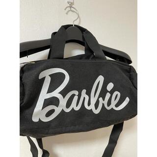 バービー(Barbie)のBarbie バービー 黒 ボストンバッグ(ボストンバッグ)