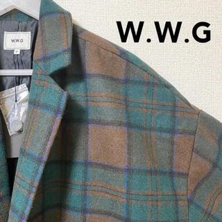 w.w.g フーズブーギャラリー オーバーサイズチェスターコート 新品タグ T6