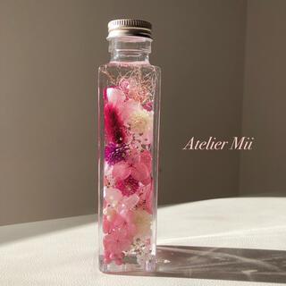 春色 ハーバリウム ピンク【27】(その他)