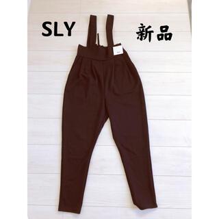 スライ(SLY)の★新品★SLYスライ サロペット(サロペット/オーバーオール)