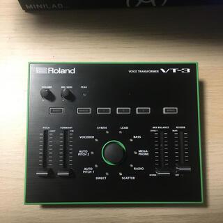 ローランド(Roland)の【値下げしました!】VT-3 Rolandボイスチェンジャー ボーカルエフェクト(エフェクター)