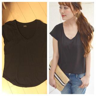 シップスフォーウィメン(SHIPS for women)の今季♡シルクTシャツ(Tシャツ(半袖/袖なし))