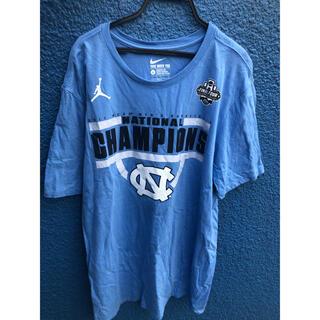 ナイキ(NIKE)のUNC カラー  Jordan Tシャツ Lサイズ(Tシャツ/カットソー(半袖/袖なし))