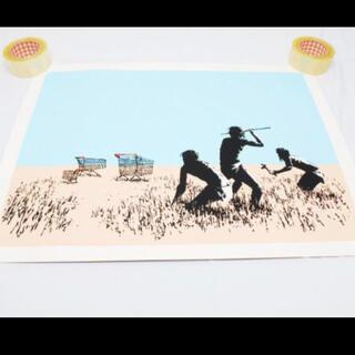 Banksy バンクシー TROLLEY HUNTERS(版画)