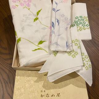 銀座かなめ屋 ガーゼタオルセット(タオル/バス用品)