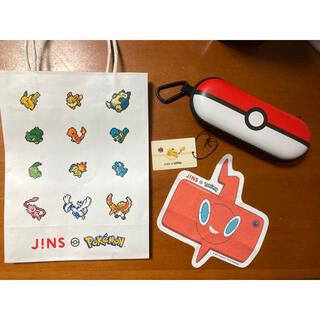 ジンズ(JINS)のポケモン JINS メガネケース 新品未使用品 (その他)