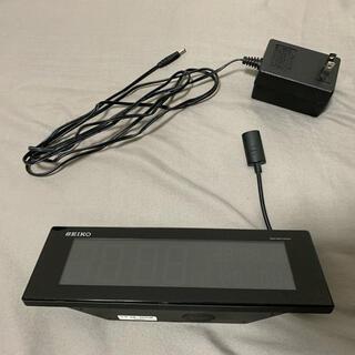 セイコー(SEIKO)のSEIKO デジタル電波クロック C3 DL305K(置時計)