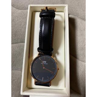 ダニエルウェリントン(Daniel Wellington)のダニエルウェリントン 腕時計 ブラック(腕時計)