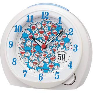 セイコー(SEIKO)のドラえもん 50周年記念の目ざまし時計 数量限定(置時計)