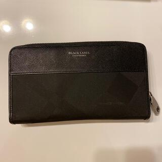 ブラックレーベルクレストブリッジ(BLACK LABEL CRESTBRIDGE)の値下げしました!!BLACK LABEL財布(折り財布)