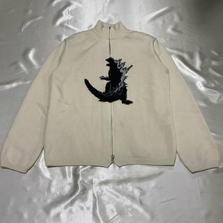 Yohji Yamamoto - 90s y's for men×東宝 ゴジラ ジップアップニット archive