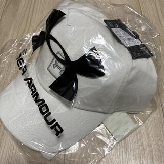 UNDER ARMOUR - 新品 定価3080円 アンダーアーマー キャップ 帽子 ホワイト