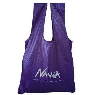 ナンガ(NANGA)の送込 ナンガ エコバッグ 紫 パープル 新品(エコバッグ)
