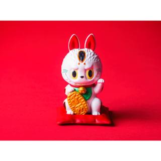 LABUBU 招き猫 POP MART 新品未開封(その他)