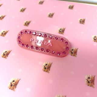 プラダ(PRADA)のヘアピン prada ピンク(ヘアピン)