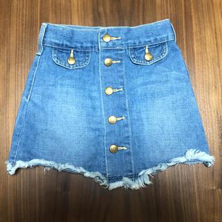 リー(Lee)の美品 Lee スカート サイズ100(スカート)