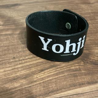 ヨウジヤマモト(Yohji Yamamoto)のyohji yamamoto レザー バングル(バングル/リストバンド)