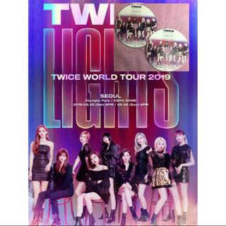 ウェストトゥワイス(Waste(twice))のTWICE WORLDツアー LIGHTS 2019 Seoul公演 트와이스(ミュージック)