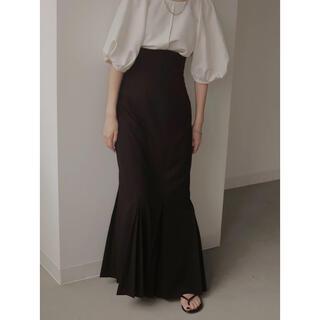 louren mermaid pleats skirt(ロングスカート)