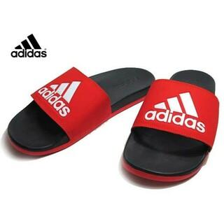 アディダス(adidas)の新品 送料込み アディダス 赤 アディレッタ 28.5センチ レッド サンダル(サンダル)