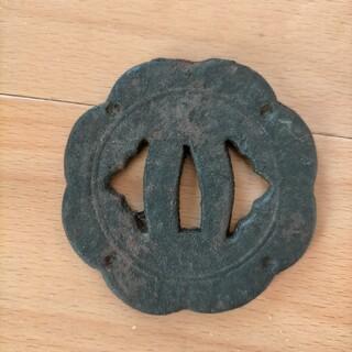 らすかるさん専用 古い鉄鍔 刀装具(武具)