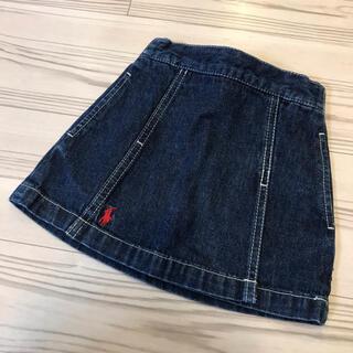 ラルフローレン(Ralph Lauren)の【Ralph Lauren】ラルフローレン デニムスカート サイズ80(スカート)