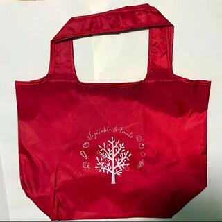 カゴメ(KAGOME)のKAGOME オリジナルエコバッグ 赤(トートバッグ)
