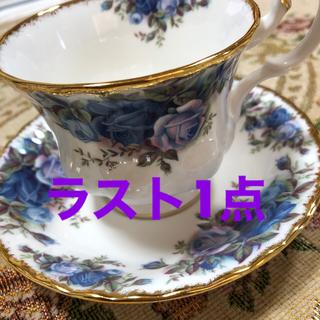ロイヤルアルバート(ROYAL ALBERT)のロイヤルアルバート ムーンライトローズ コーヒーカップ 英国製 新品(食器)