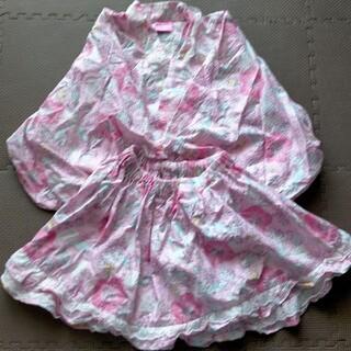 ディズニー(Disney)の浴衣ドレス 甚平 アリエルサイズ110(甚平/浴衣)