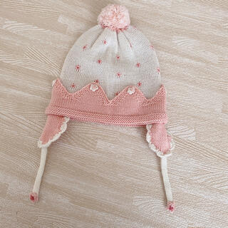 スーリー(Souris)の《3/10 お値下げしました!♡》スーリー ニット帽 帽子(帽子)