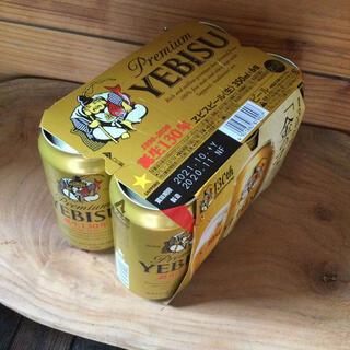 エビス(EVISU)のPremium YEBISU ビール 6缶 350ml(ビール)
