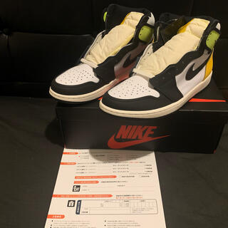 ナイキ(NIKE)のNIKE AIR JORDAN 1 RETRO HIGH OG VOLT(スニーカー)