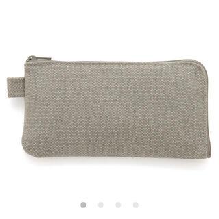 ムジルシリョウヒン(MUJI (無印良品))の新品未使用 無印良品 帆布ペンケース 平型(ペンケース/筆箱)