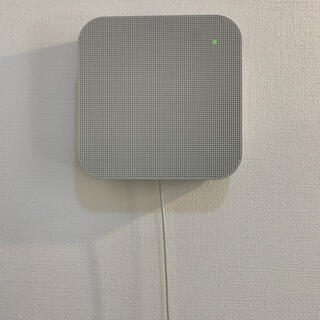 ムジルシリョウヒン(MUJI (無印良品))の壁掛式Bluetoothスピーカー 極美品(スピーカー)