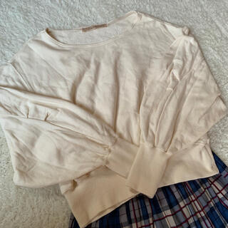 ドットアンドストライプスチャイルドウーマン(Dot&Stripes CHILDWOMAN)のDot and  Stripes ボリューム袖トップス(カットソー(長袖/七分))