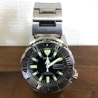 セイコー(SEIKO)のセイコー ブラックモンスター 逆輸入品(腕時計(アナログ))