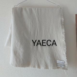 ヤエカ(YAECA)のnaya様専用 ストール ハット ボートネック(ストール/パシュミナ)