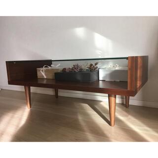 ディスプレイテーブル センターテーブル ローテーブル  ガラステーブル(ローテーブル)